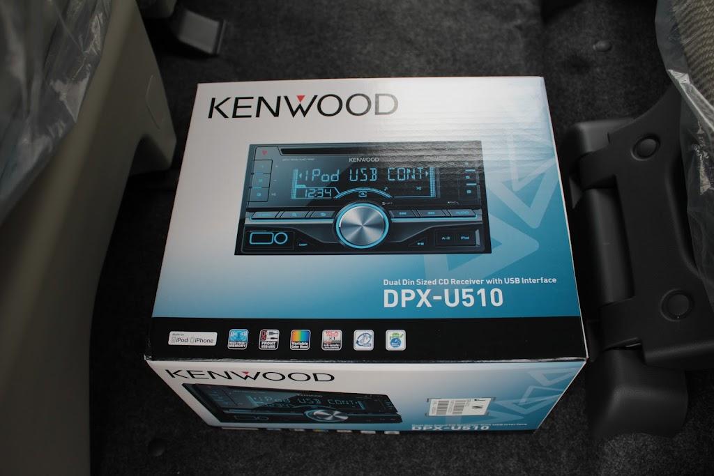 KENWOOD DPX-U510の写真です。