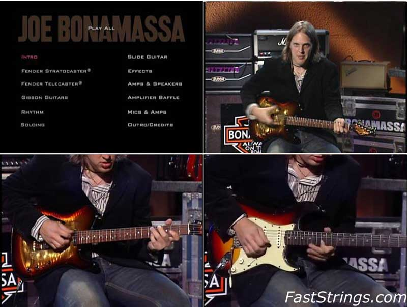 Joe Bonamassa - Signature Sounds, Styles & Techniques