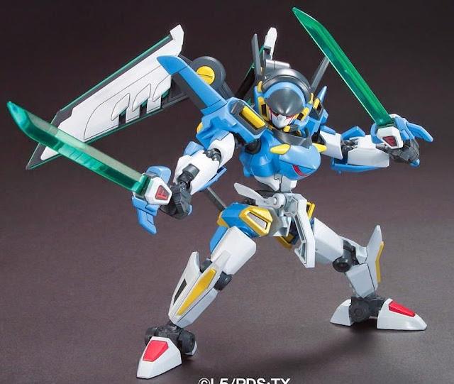 Mô hình Đấu sĩ LBX Ikaros Force