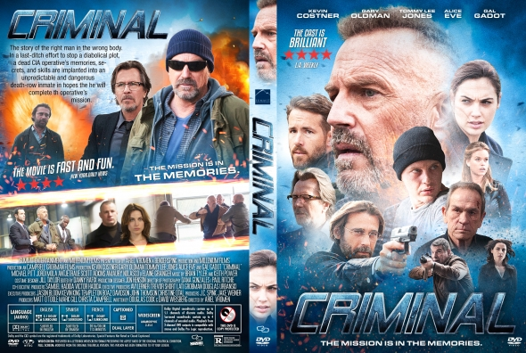 Criminal – Latino, Inglés – DVD9