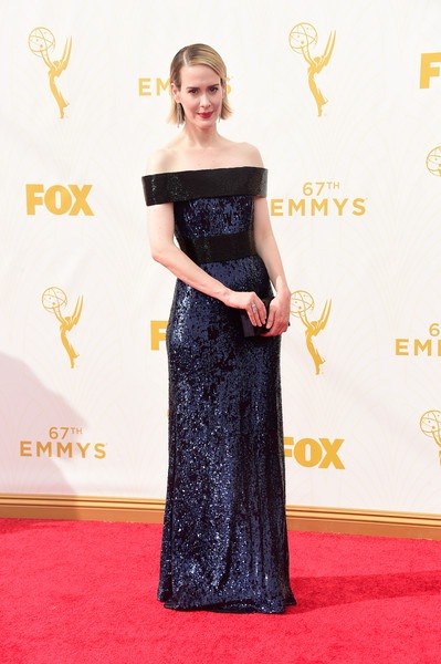 Sarah Paulson attends the 67th Annual Primetime Emmy Awards