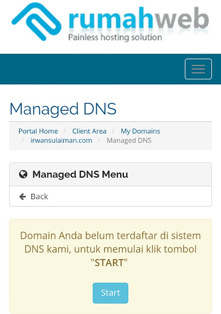 Cara Pasang Custom Domain