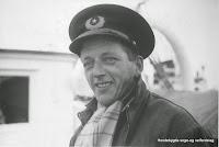"""Jarle Sandvik som 30-åring og andrestyrmann på """"Jopeter"""" i 1955. (Fotografiet er utlånt av Jarle Sandvik)"""