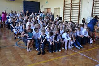 Uroczyste rozpoczęcie roku szkolnego 2016/2017 w Szkole Podstawowej - 01.09.2016