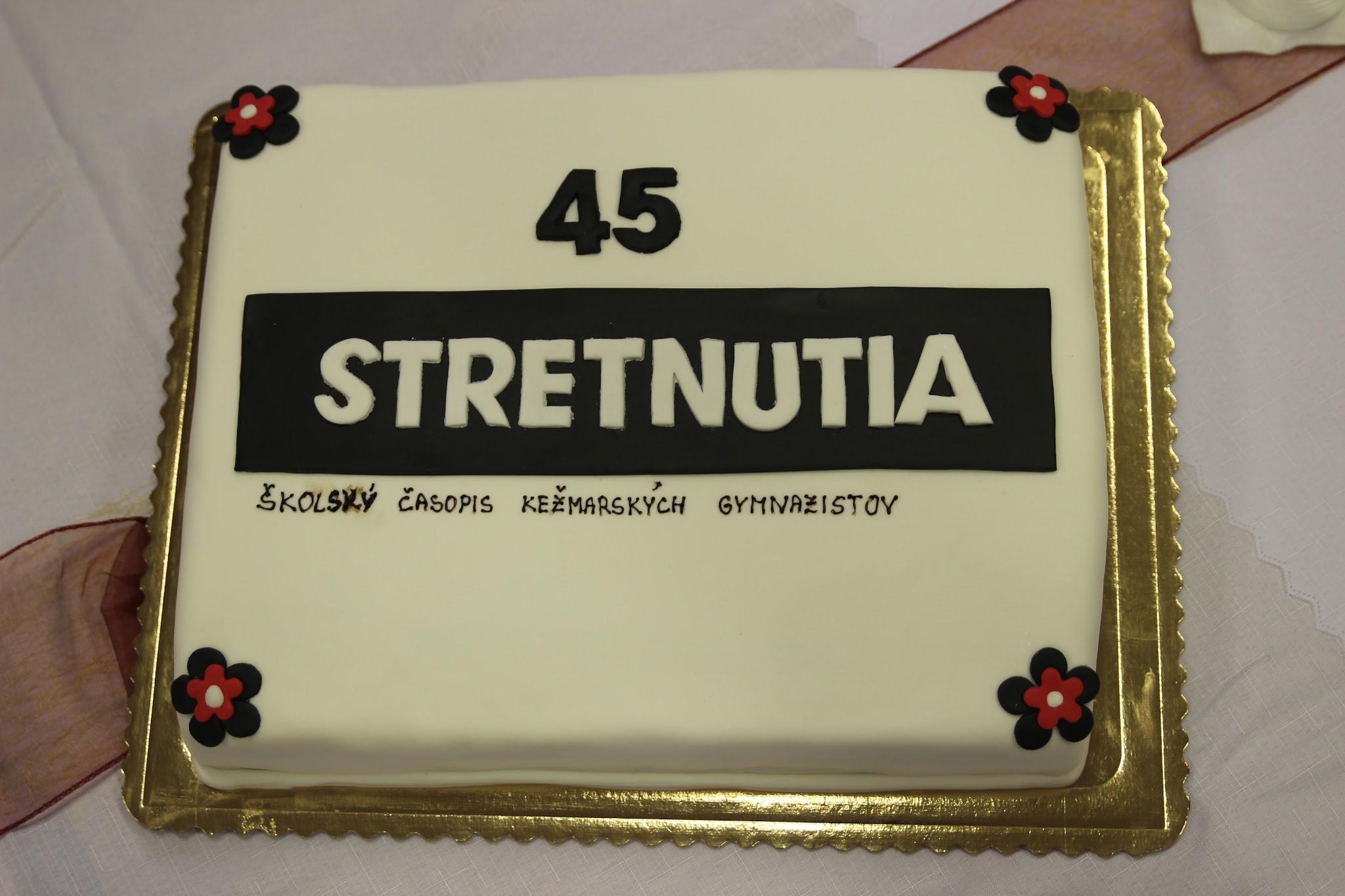 45. výročie založenia STRETNUTIA