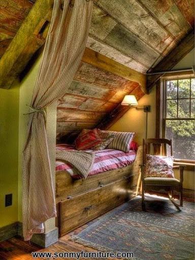 Phòng ngủ mộc mạc cho mùa đông ấm áp-4