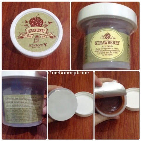skinfood strawberry black sugar mask отзывы
