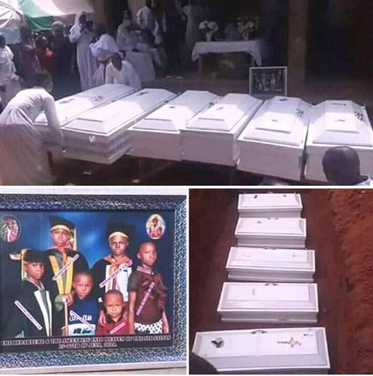 This family lost all six children. they were poisoned while their parents were at work. Don't be heartless.. type RIP & SHARE for them.