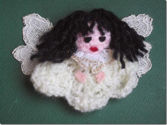 Angel de crochet, Adornos Navidad