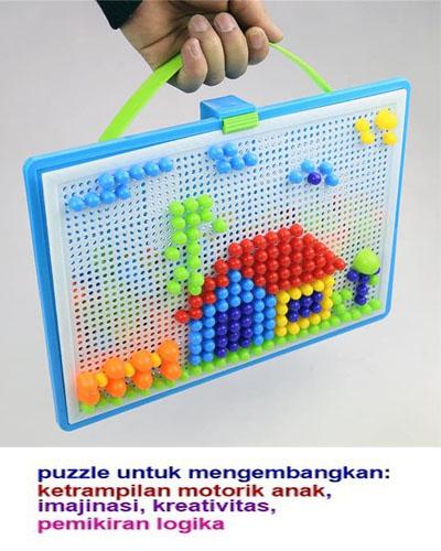 puzzle paku jamur