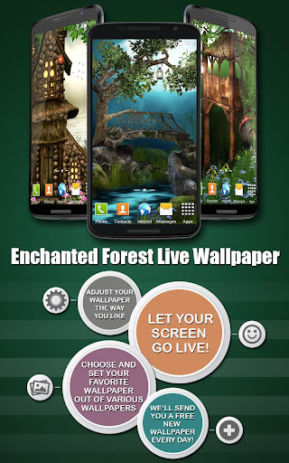 Enchanted Forest Wallpaper