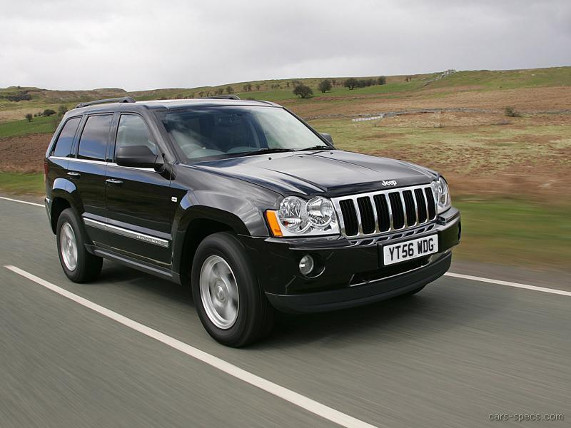 2006 jeep grand cherokee suv specifications pictures prices. Black Bedroom Furniture Sets. Home Design Ideas