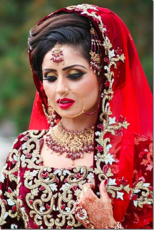 Indian Wedding Hairstyles (67)