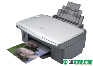 How to Reset Epson CX4700 flashing lights error