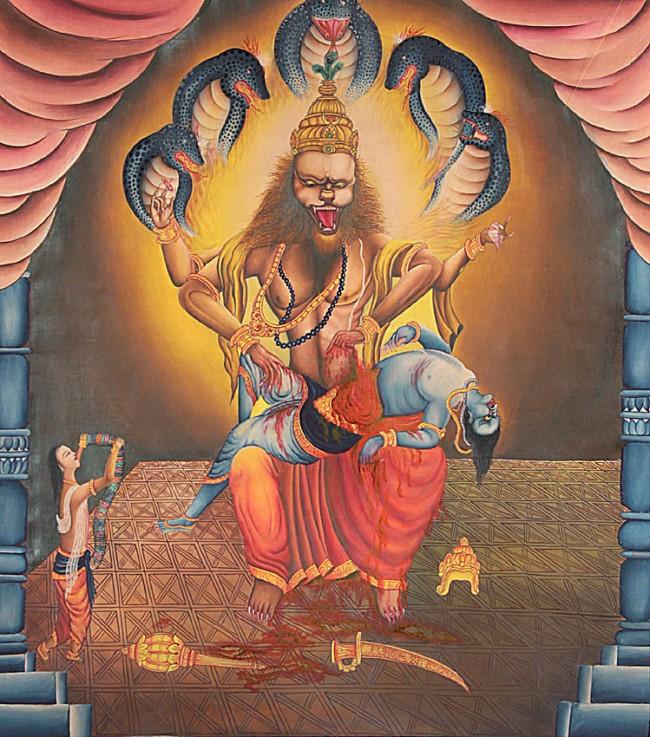 Lord Narasimha, Gods And Goddesses 6