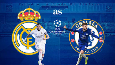 Real Madrid vs Chelsea : UCL Semi final Live Stream