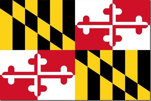 maryland flag big