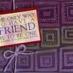 FS1110-D Be A Friend