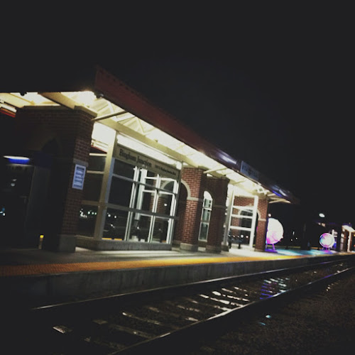 Lonely train station in Utah