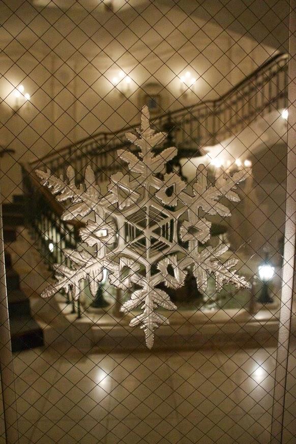 雪の結晶模様