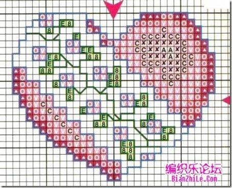 corazones en punto de cruz laborespuntocruz (2)