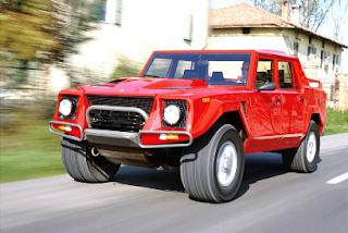 The classic Lamborghini LM002