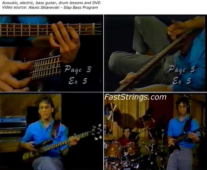 Alexis Sklarevski - Slap Bass Program