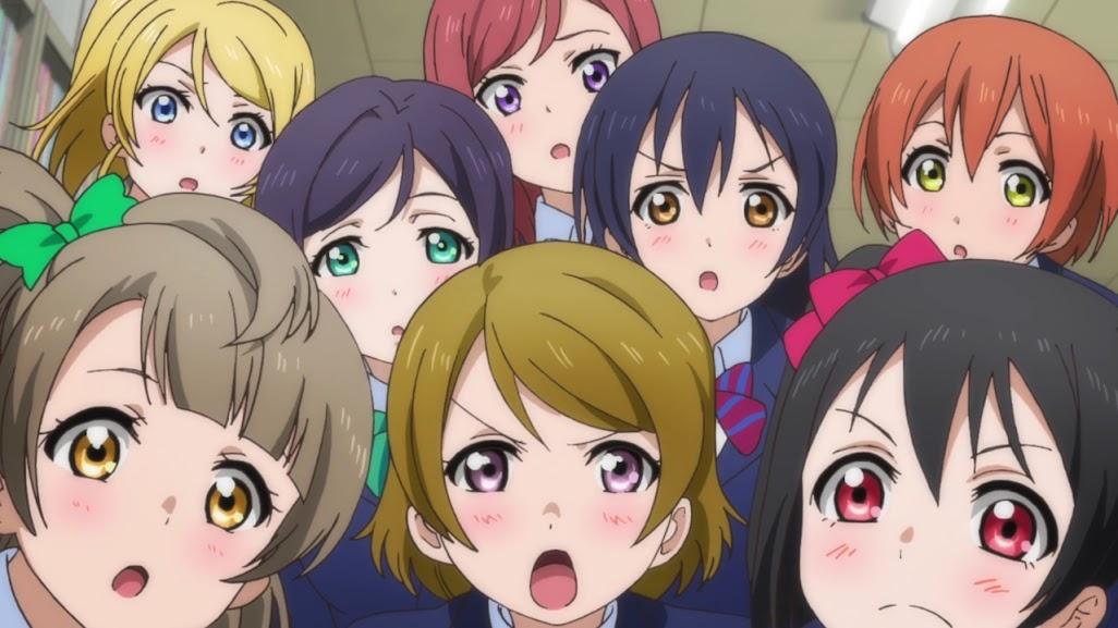 Love live school idol project 2 13 13 720p mega identi for Koi no mega lover