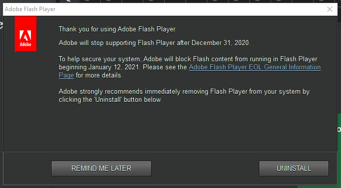 Where is Abode Flash Player Going?