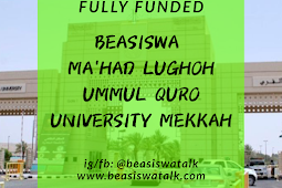 Fully Funded Beasiswa Ma'had Lughoh Ummul Quro University Mekkah 2020