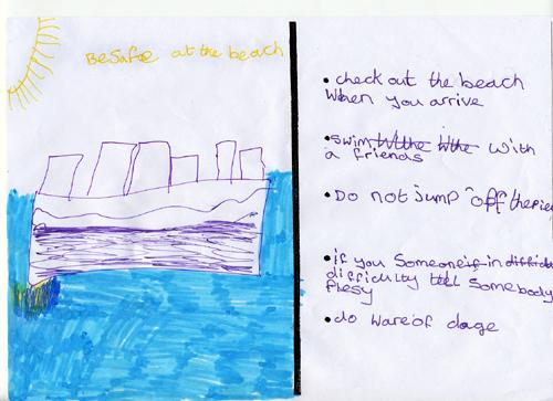 Sea safety checklist - Sharon