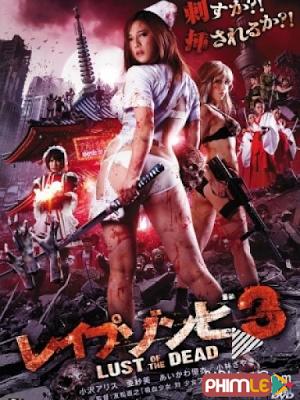 Phim Zombie Háo Sắc 3 - Rape Zombie: Lust of the Dead 3 (2013)