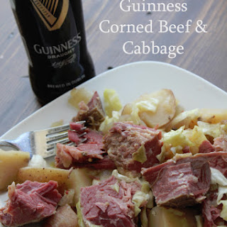Crock Pot Guinness Corned Beef and Cabbage