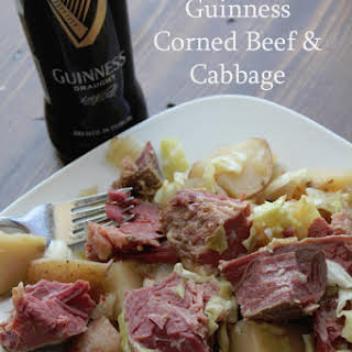 Crock Pot Guinness Corned Beef and Cabbage.