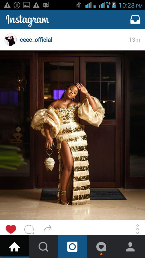 Ceec Looks Takeaway in New Outfit See Photo