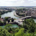 Le confluent de la Seine et de l'Yonne