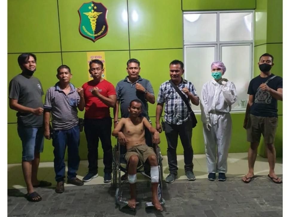 Pelaku Pembacokan Dihadiahi Timah Panas Oleh Tim Anti Bandit Polsek Medan Area