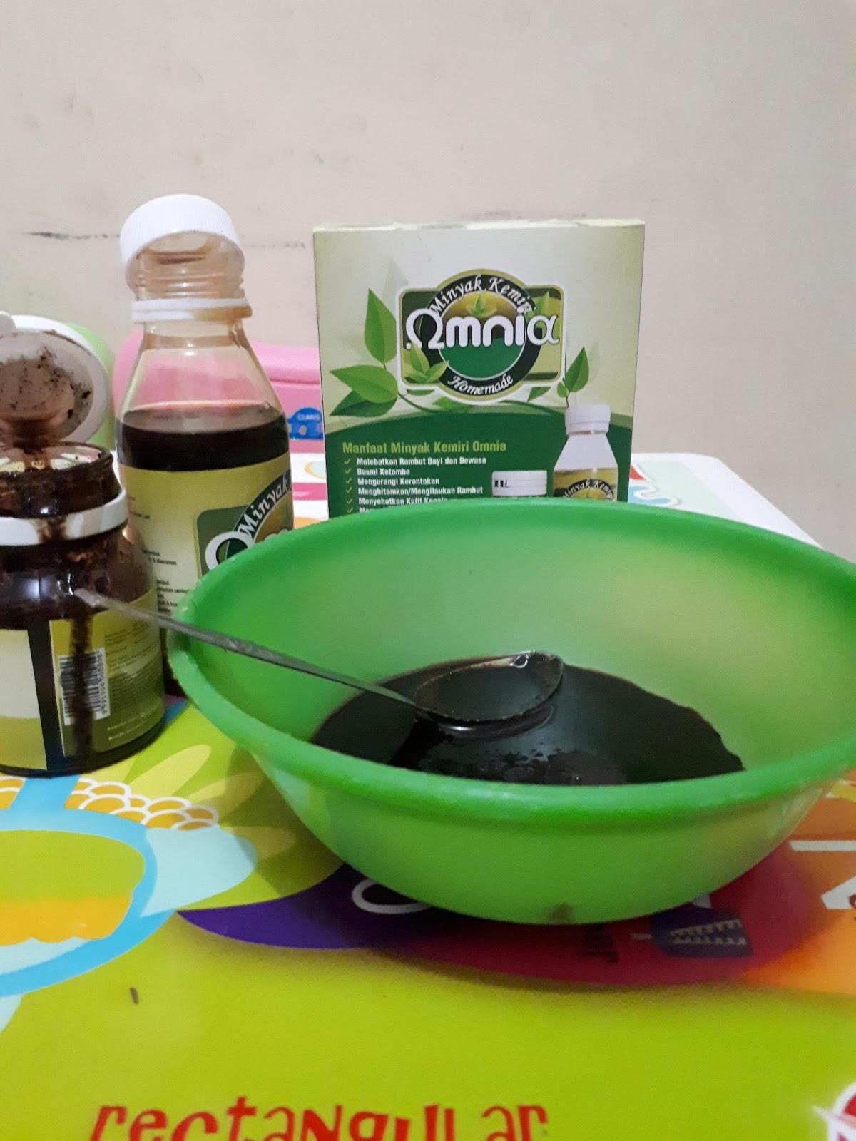 cara pakai minyak kemiri omnia Cara Buat Minyak Kemiri Untuk Bayi
