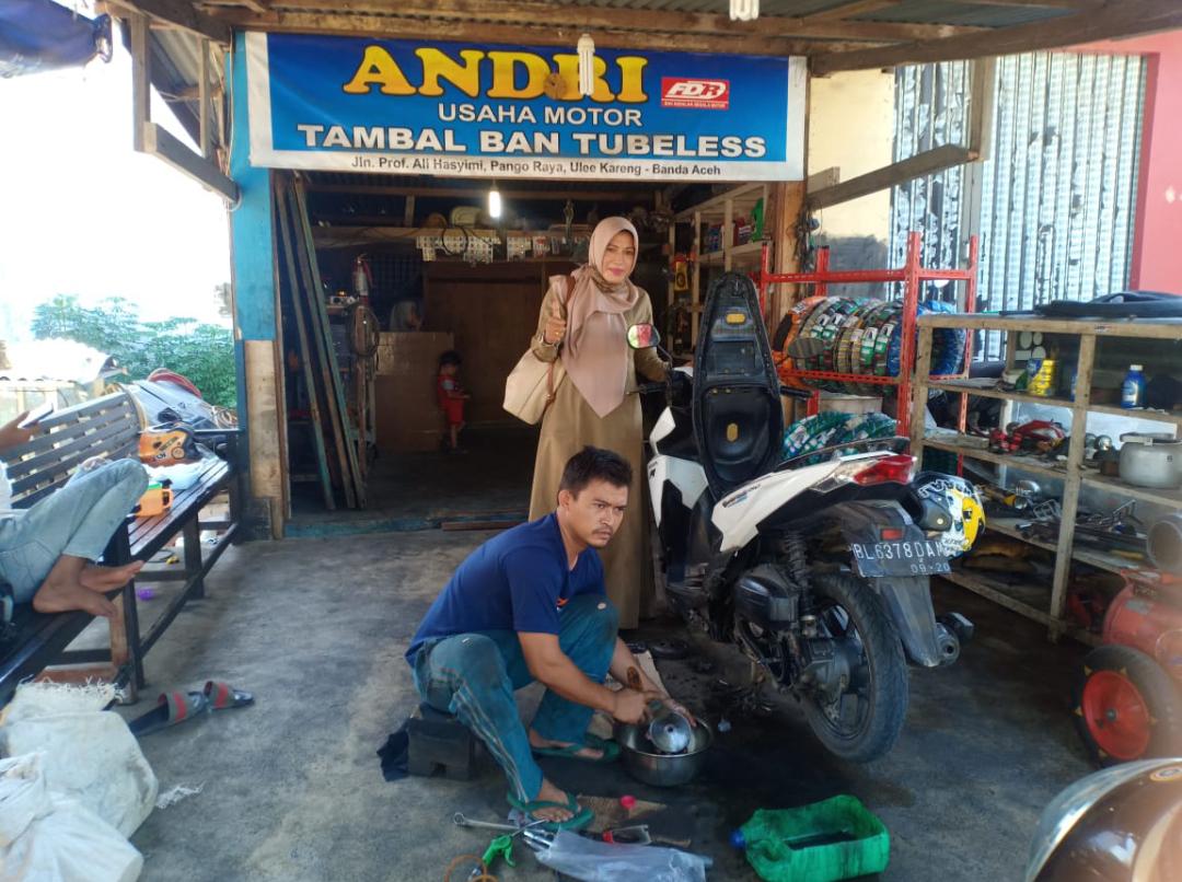 Lulusan Slb B Ypac Banda Aceh Bekerja Mandiri