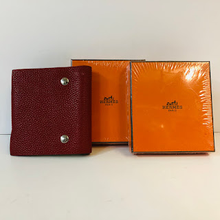 Hermès Ulysses Mini Notebook with Two Refils