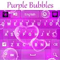 Burbujas Púrpuras del Teclado icon