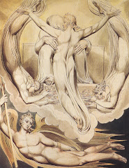 blake, christ, redeemer, 1808, milton, paradise lost, grace, angel, drawing