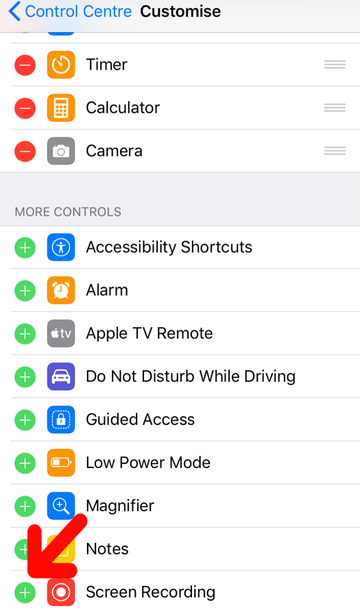 iphone 6 screen recodring