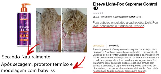 Elseve Light-Poo Loreal–Tudo em 1