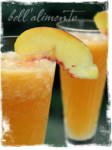 Tip: Add a little Peach Schnapps for even more peach flavor.