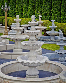 Exterior, Fountains, Showroom, Tiered