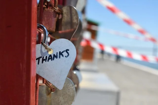 A thank you lock