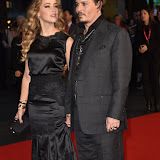 OIC - ENTSIMAGES.COM - Amber Heard and Johnny Depp  at the  LFF: Black Mass - Virgin Atlantic gala in London 11th October 2015 Photo Mobis Photos/OIC 0203 174 1069