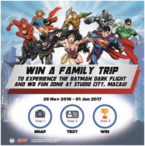 SNAP, POST & WIN DC Justice League! - Suka-Suka Dan Cuba-Cuba...4
