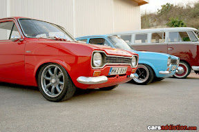 Ford Escort Mk1 with Watanabe wheels